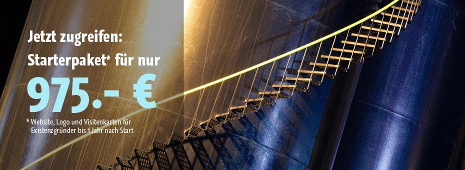 Website, Logo und Visitenkarten im günstigen Existenzgründer-Paket von kreativpott in Duisburg