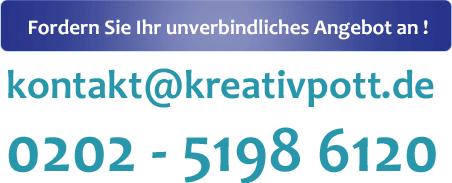 email:kontakt(at)kreativpott.de, Telefon:020251986120